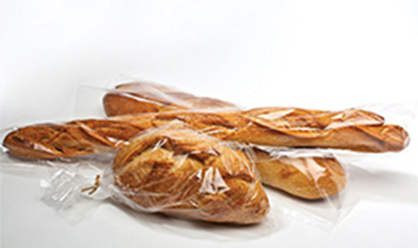 flow wrapped bread